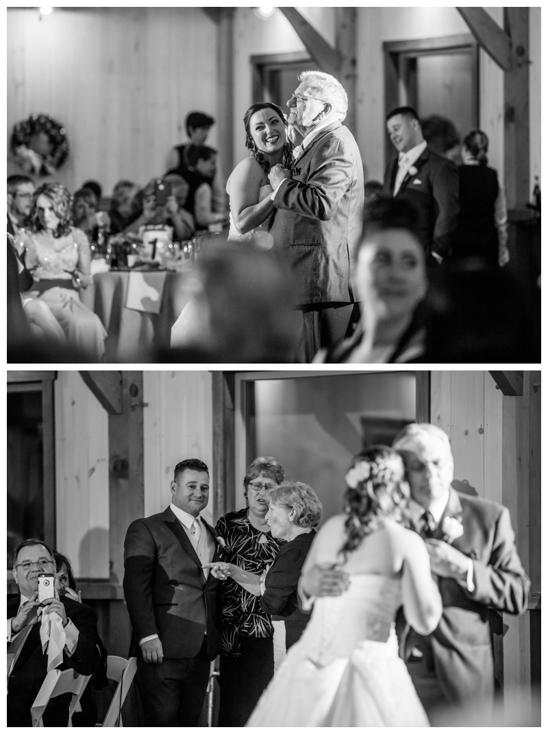 Look at that genuine smile on Roy's face as Erin and her father share a special dance.