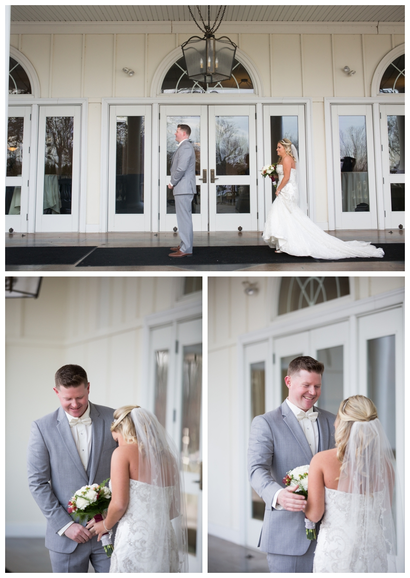 Rob's reaction to Kelsey during their First Look was just perfect!
