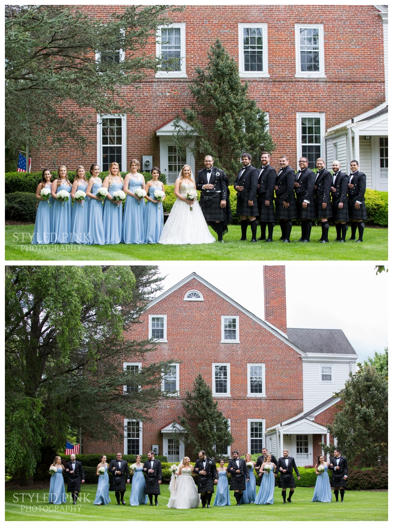 Such a genuinely awesome bridal party!