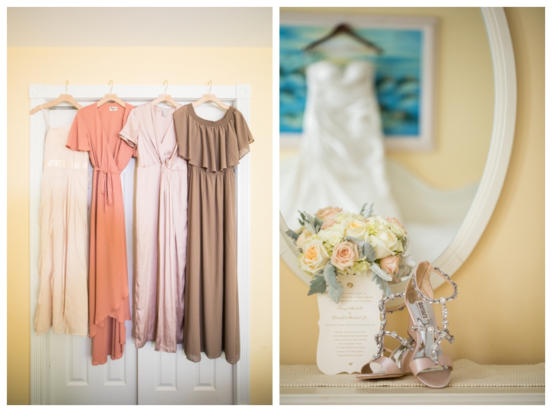 How gorgeous are these bridesmaid dresses?