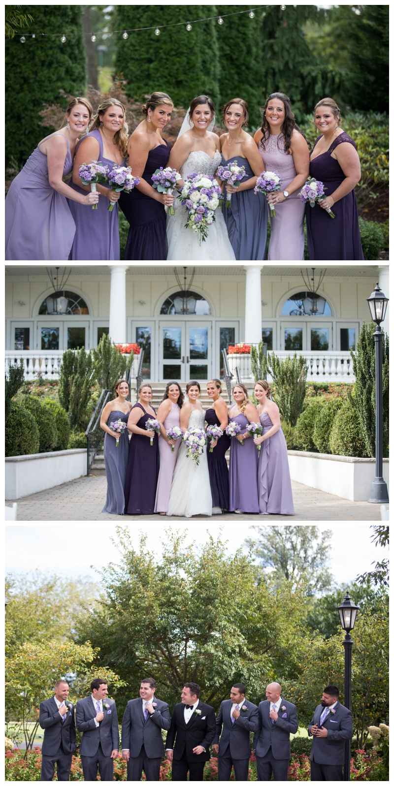 A gorgeous bridal party!
