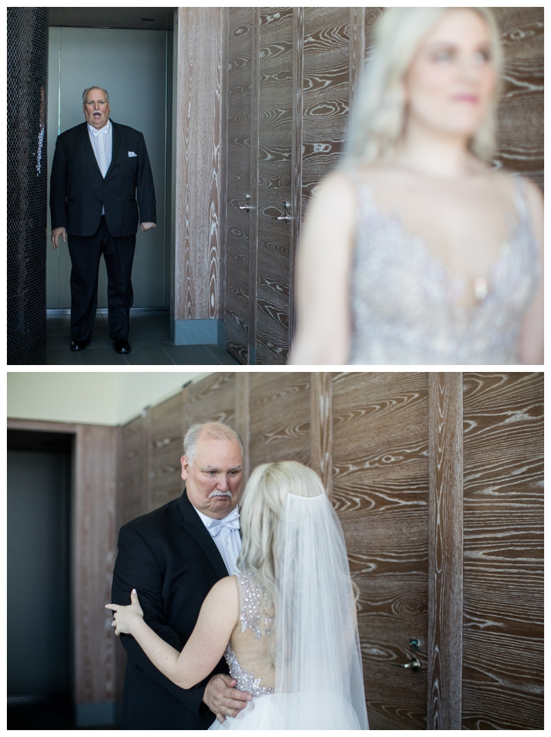 Kelly's first look with her father will forever stay with me. Her dad's reaction is simply priceless.