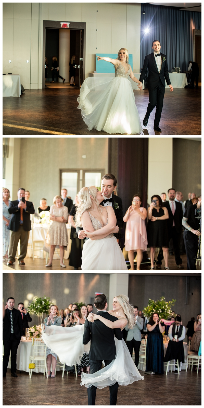 Such an impressive First Dance by the newlyweds.