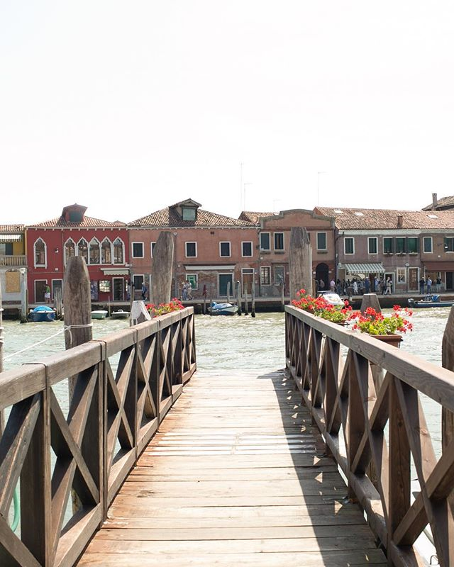 In the island of Murano. #barnabymaxwell enjoyed watching the Maestro blow glass into a horse. Amazing! #travelwithml