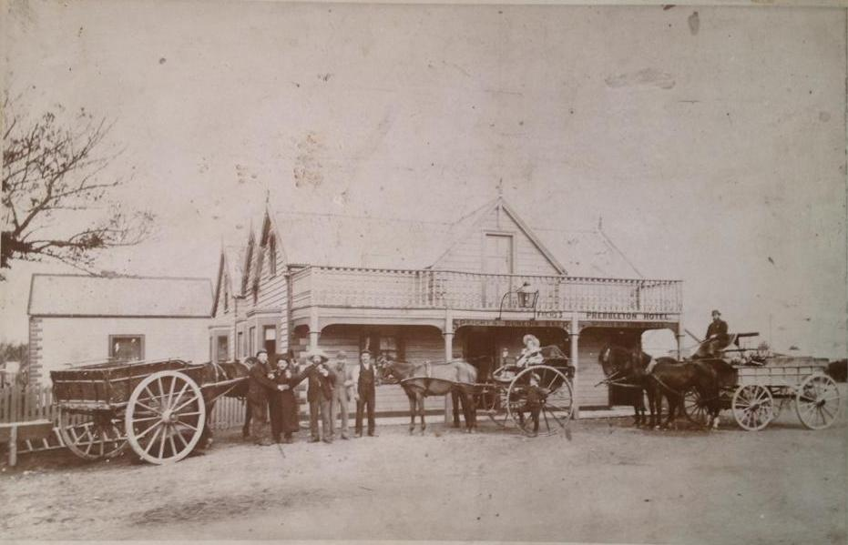 Prebbleton Hotel Circa 1868