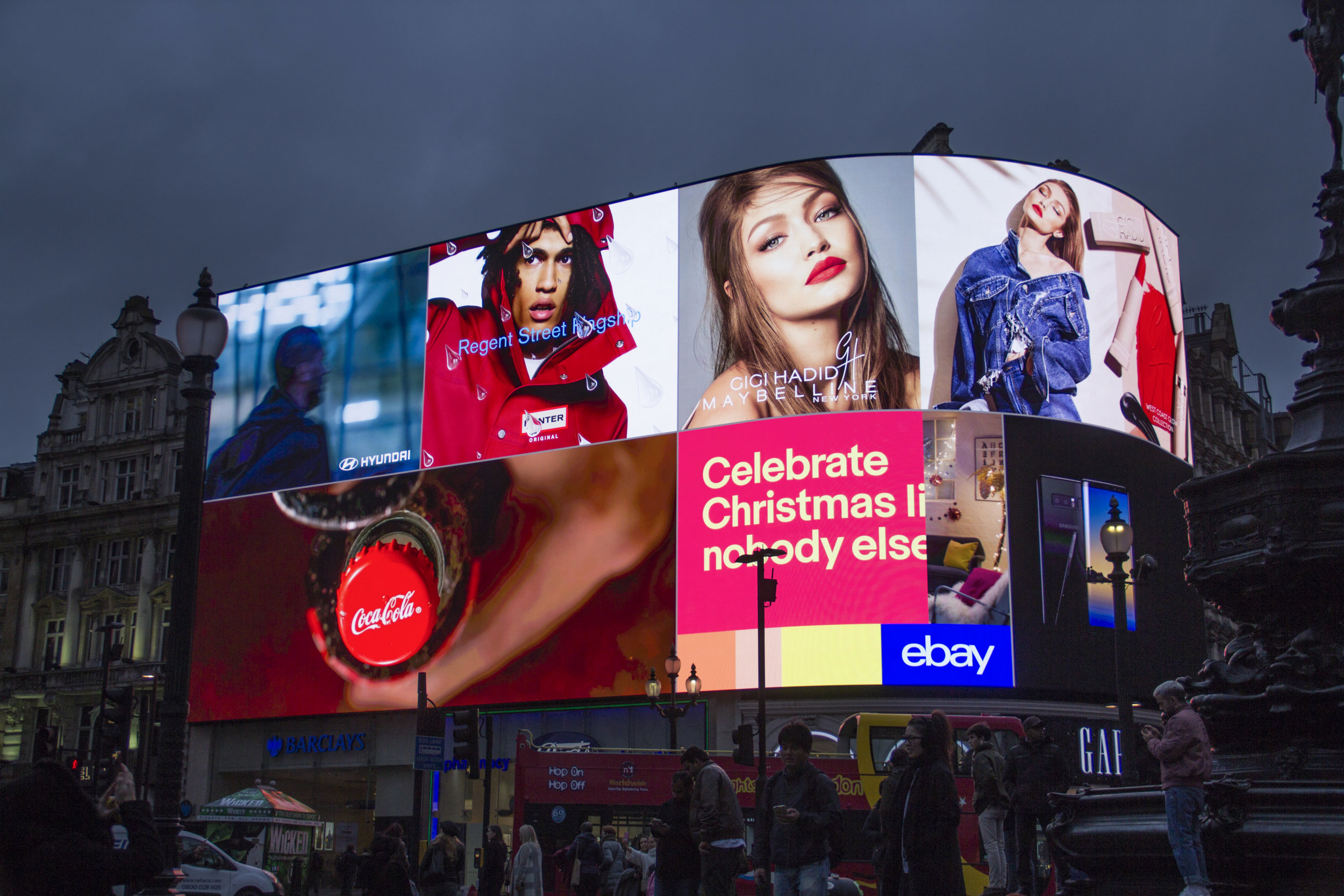 Gigi, Piccadilly Lights, Nov '17 1.JPG
