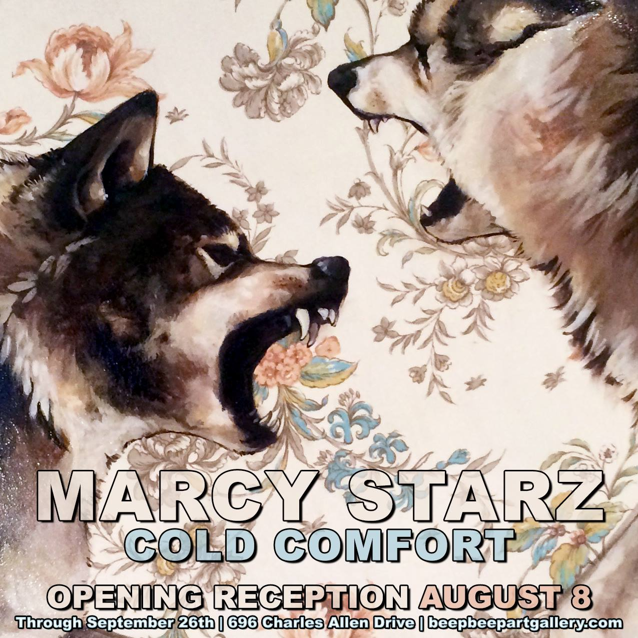 Marcy Starz' first solo exhibition at Beep Beep Gallery opens this Saturday night.