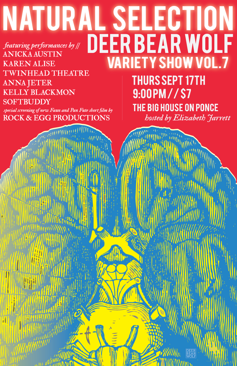 Thursday night, Deer Bear Wolf brings the Natural Selection variety show to the Big House on Ponce.