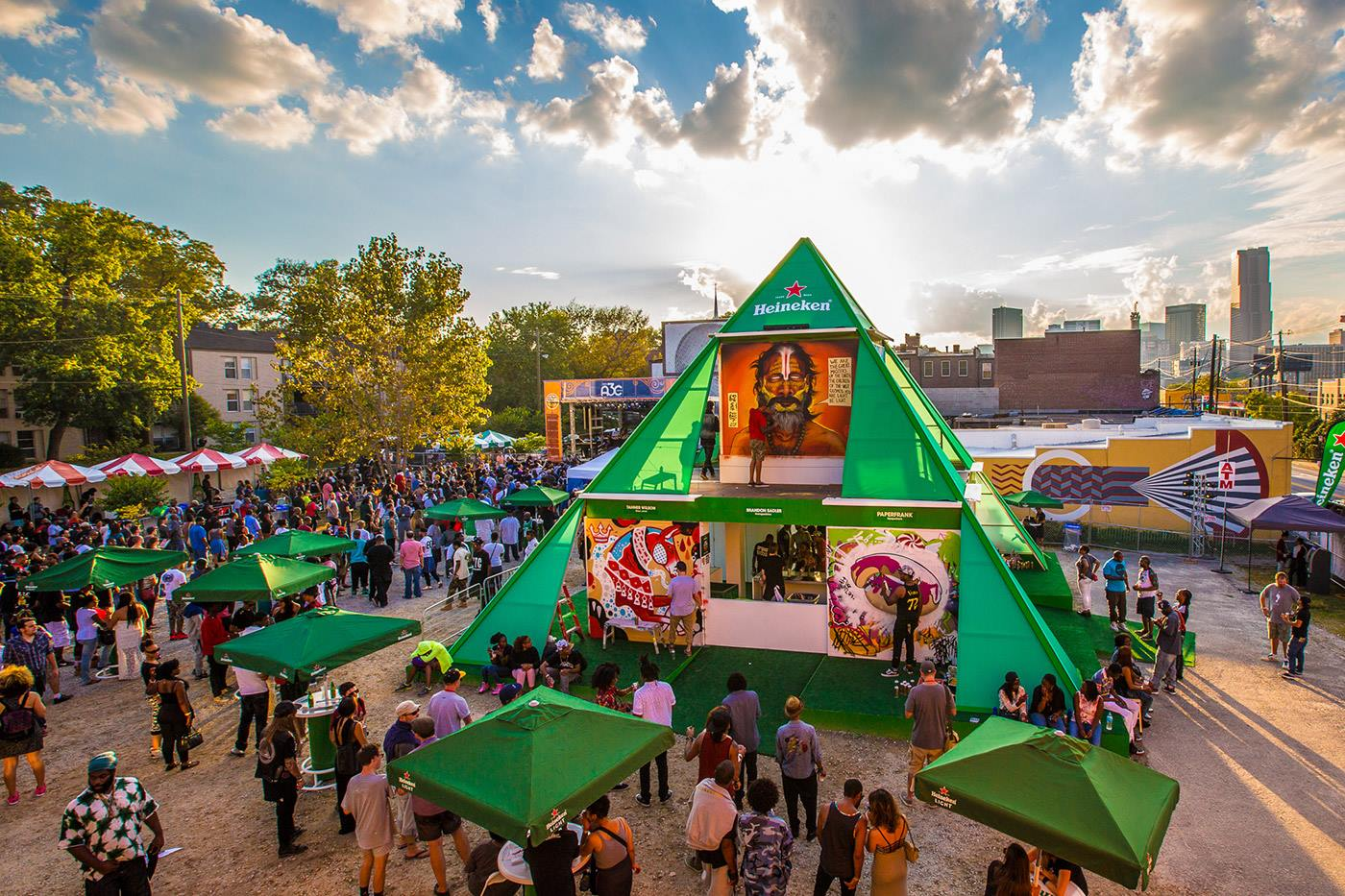 Atlanta's hip-hop festival and conference, A3C, returns to Edgewood Ave in the Old Fourth War this week.
