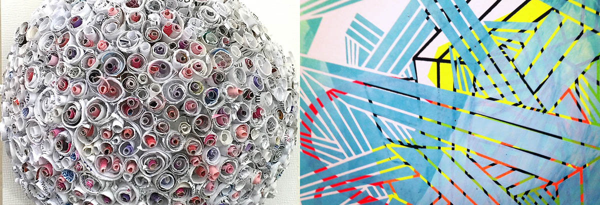 Structures and Anomalies, featuring new works by Jaynie Crimmins and Stacie Rose, opens at Kibble Gallery Friday night.