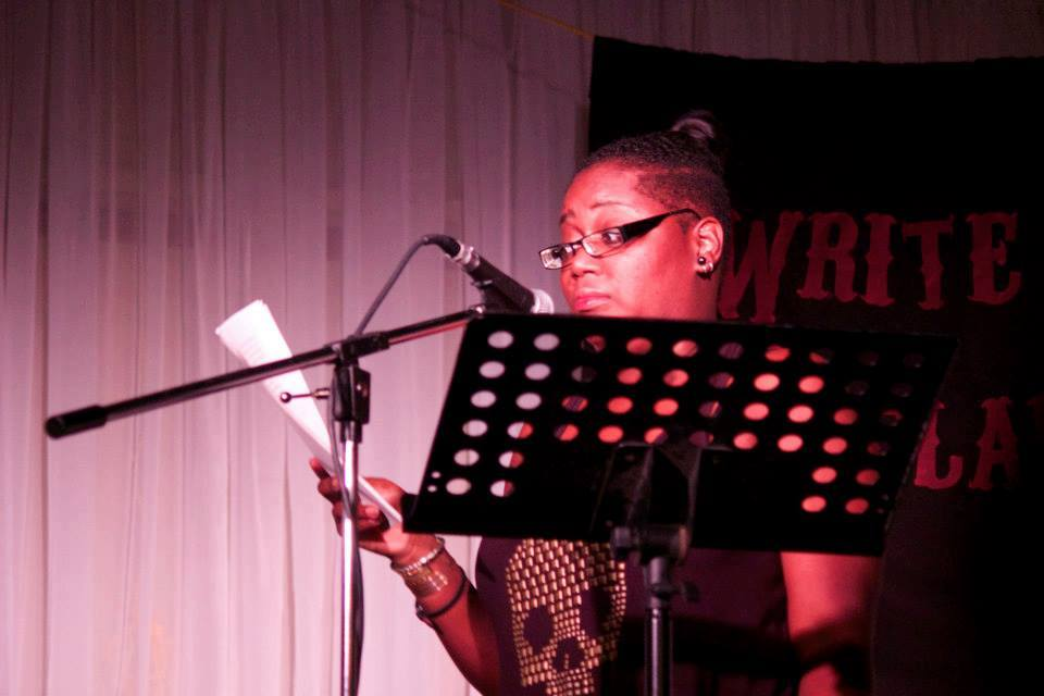 Rita Nicole Leslie performs at The Dashboard Light on Sept. 14th. Photo by Annalise Kaylor