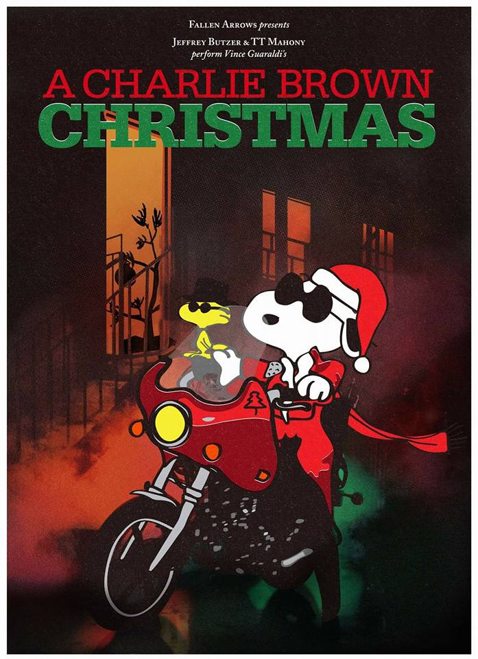 """Atlanta Tradition """" A Charlie Brown Christmas"""" with Jeffrey Butzer and TT Mahony returns to the Earl on December 16th."""