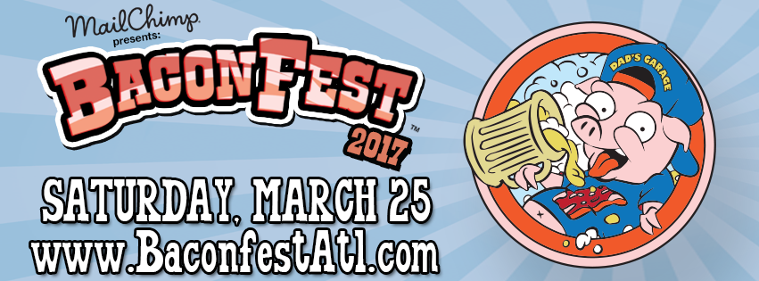 Dad's Garage Theatre's annual BaconFest returns for its 17th year.