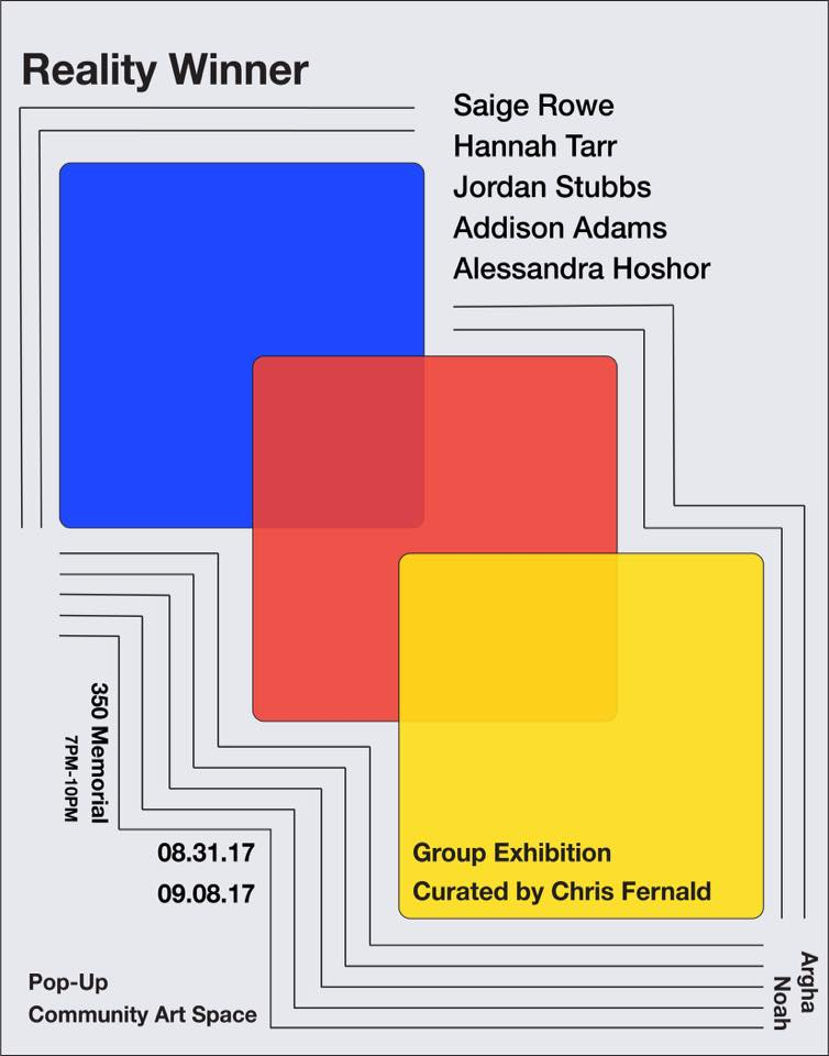 Pop-up space Argha Noah opens a group exhibition this week.