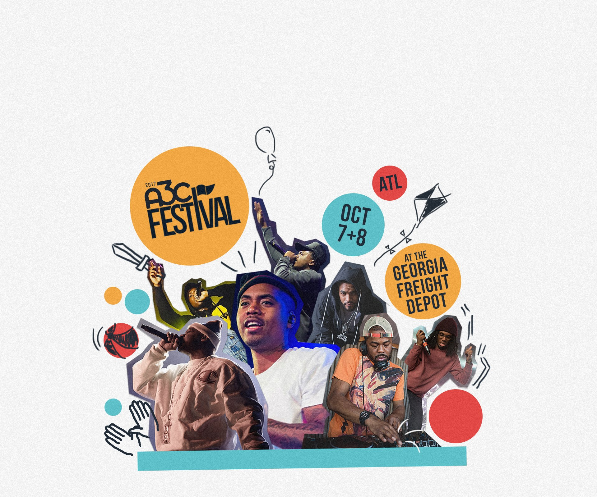 A3C returns with events throughout the week.
