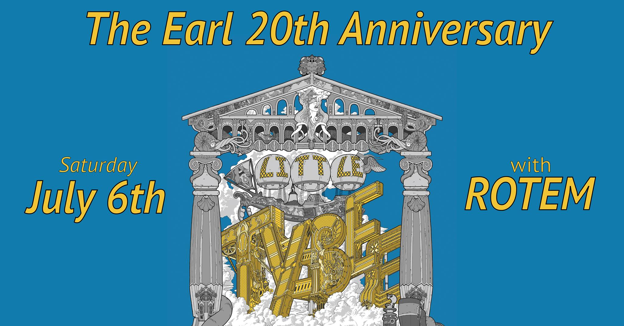 The Earl celebrates 20 years with Little Tybee this Saturday
