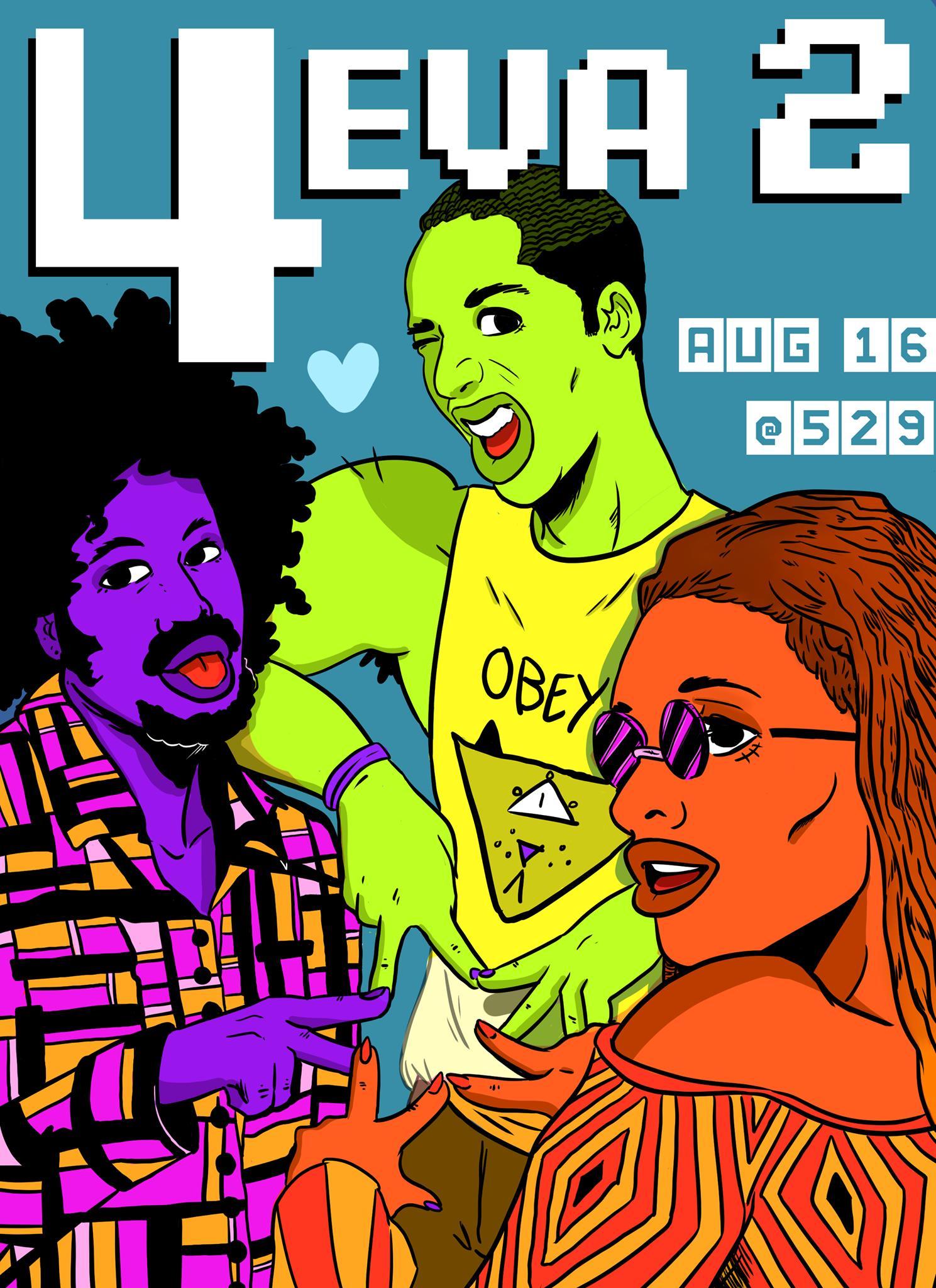 Southern Fried Queer Pride Remembers beloved Atlanta artists Kiwan Benson, Monte Qarlo, and Matt Jones this Friday.