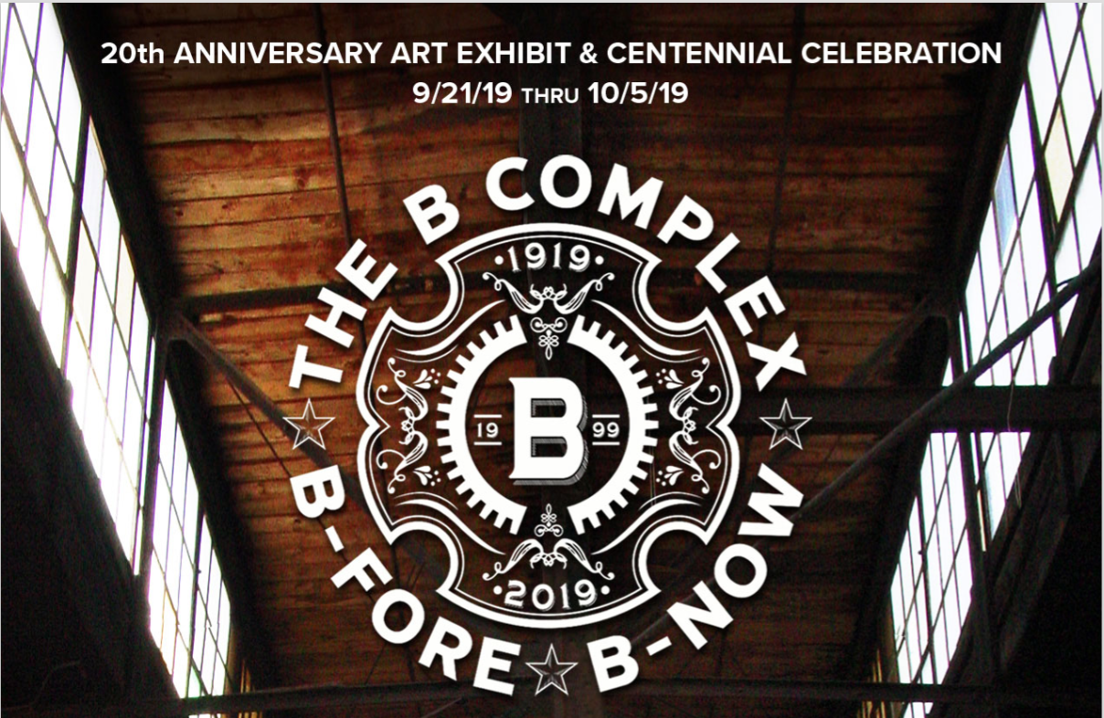 The B Complex celebrates 20 years with two weeks of programming featuring more than 60 studio artists and performers from 1999-2019.