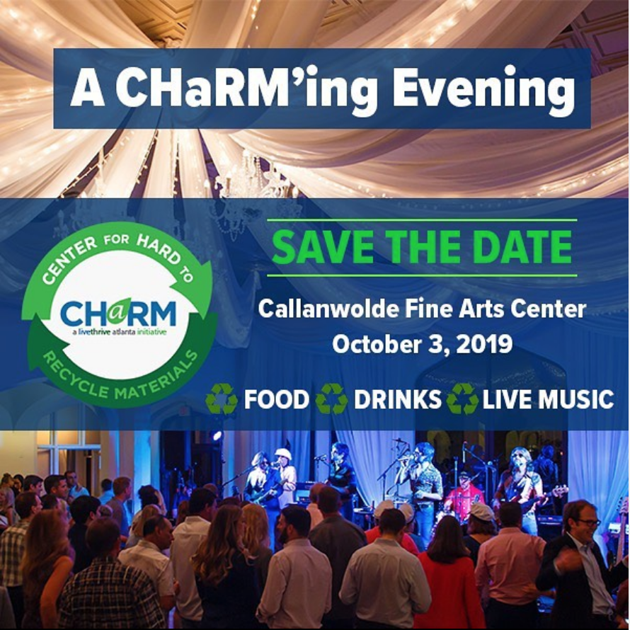 Save the date for a CHaRM'ing evening this Thursday night at Callanwolde Fine Arts Center!