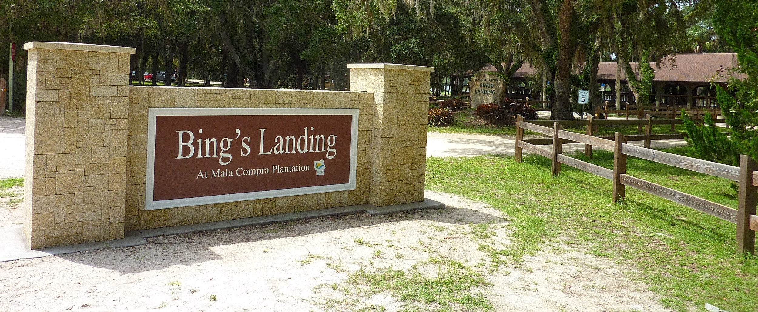 Visit the Flaglercounty.org website to learn more about Bing's Landing.