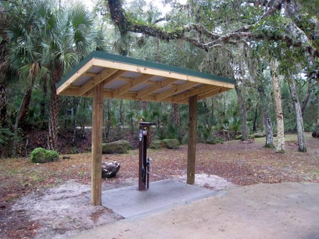 Bike Pump and Repair Station