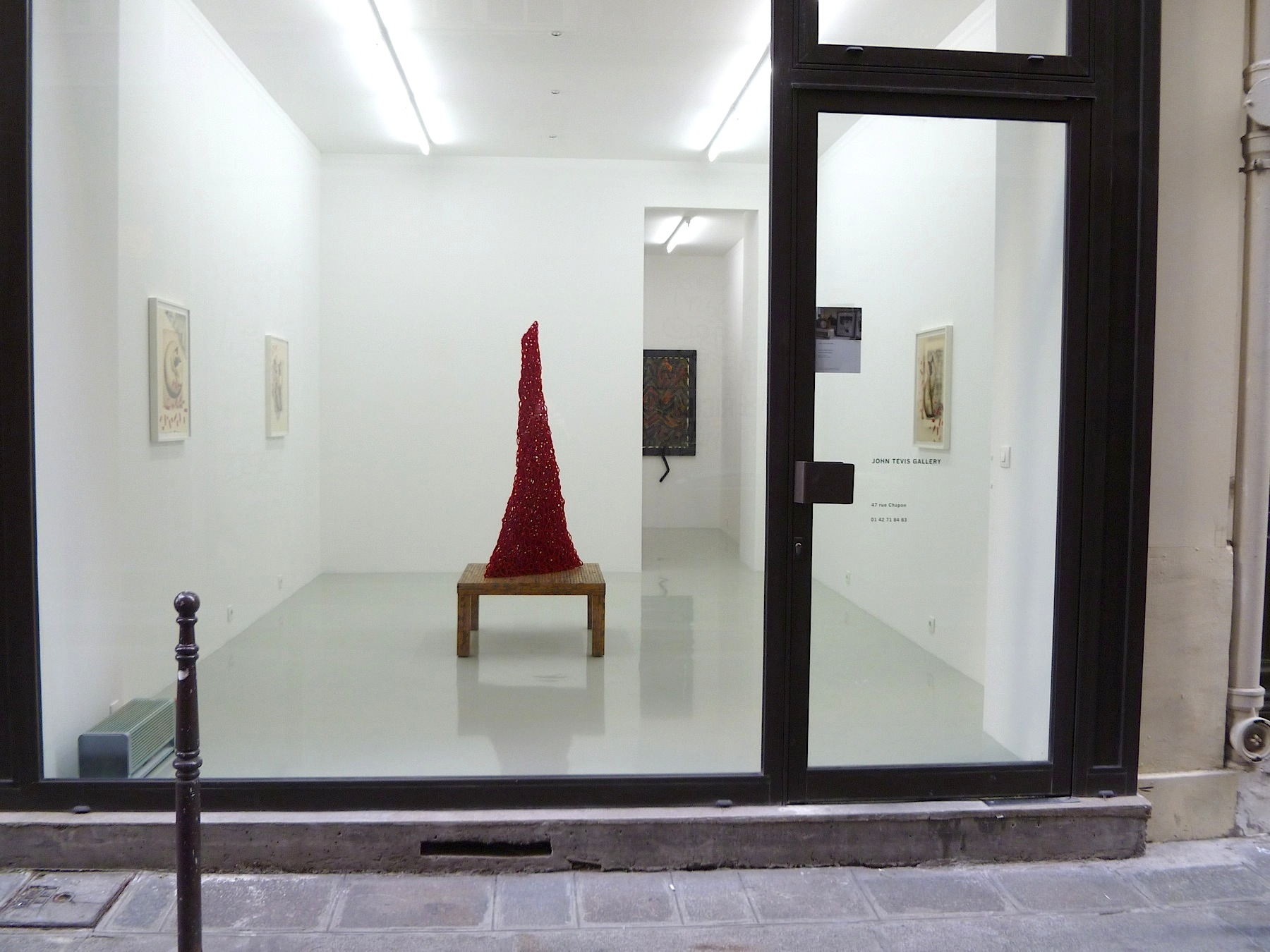 A Conversation with the Gods/John Tevis Gallery/Paris