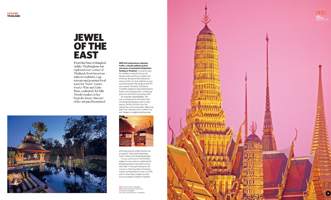 Elite Traveler # March/April 2016