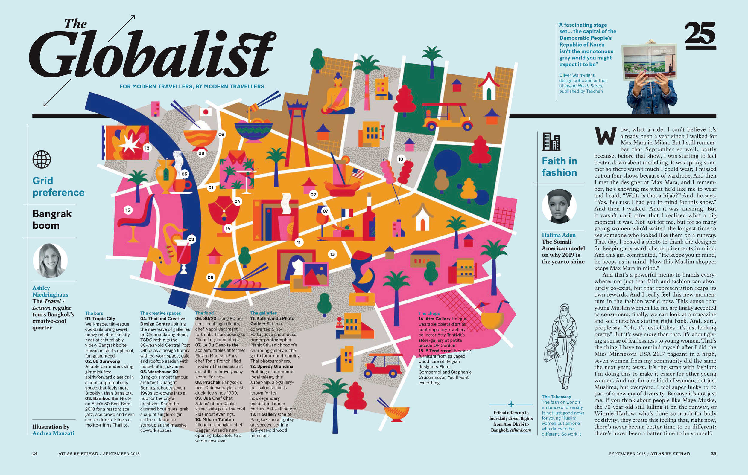 Atlas, Etihad's In-Flight Magazine # September 2018