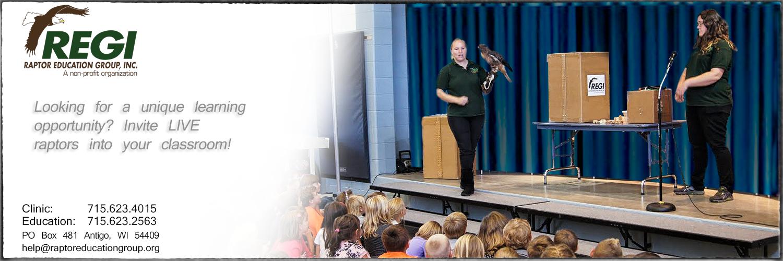 Raptor Education Group Inc Classroom Live Raptor Presentation.jpg