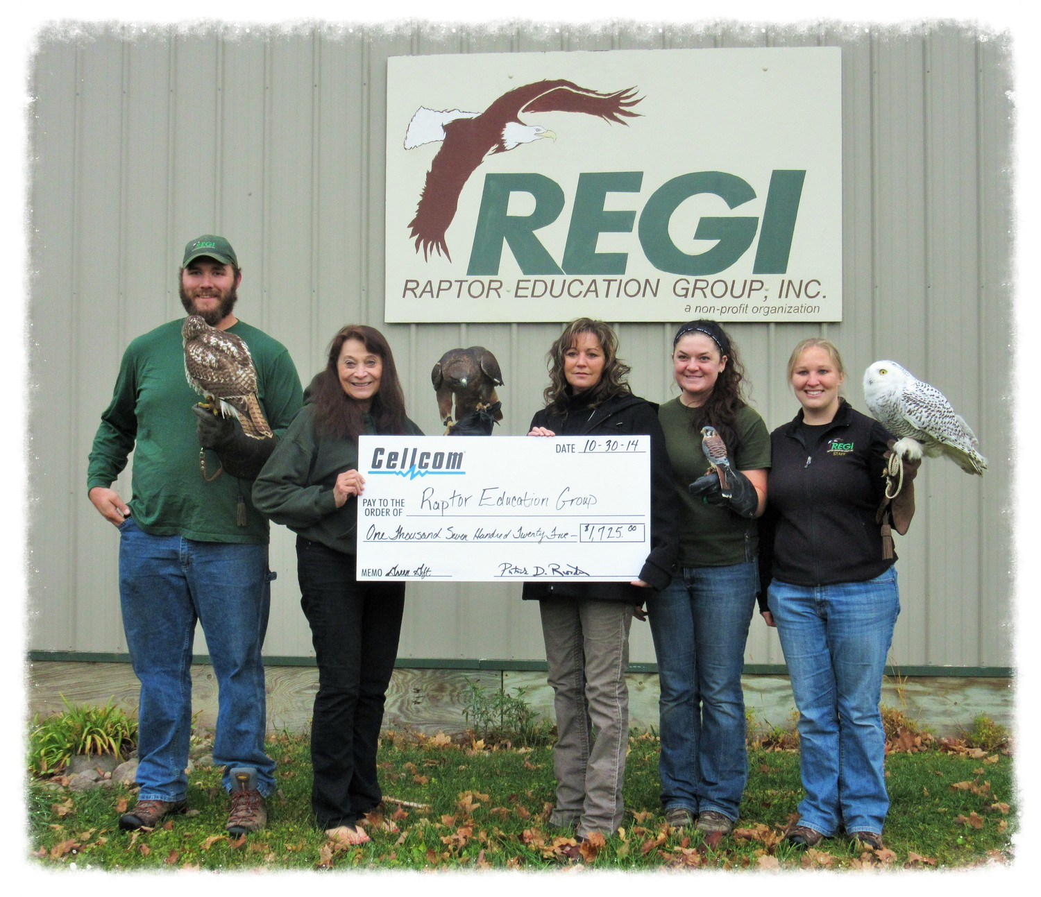 Raptor Education Group Inc accepts Cellcom donation