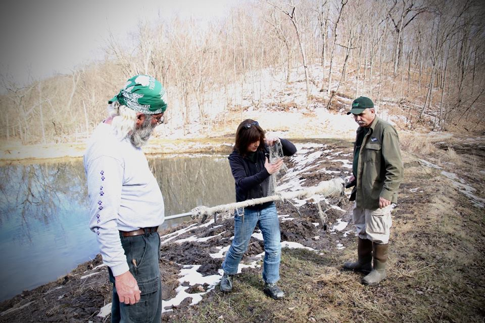 Loon capture is serious business! Check out these fine faces! — with Linda Kevin Grenzer and Kevin Grenzer