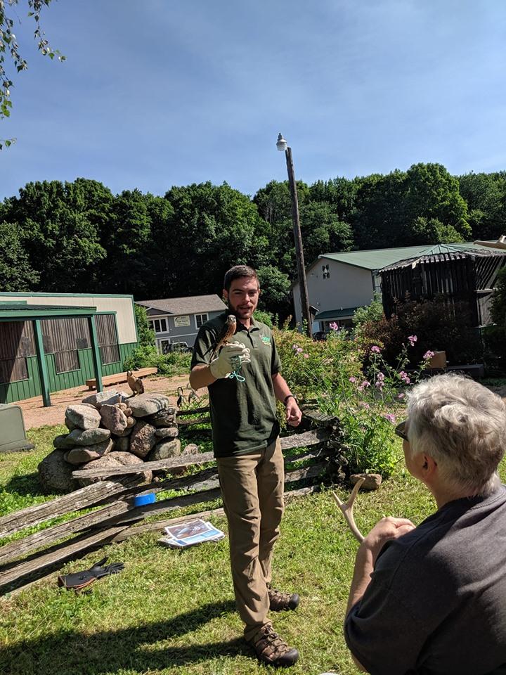 Chris Pavlakovich (Humboldt State University) speaks about falcon adaptations
