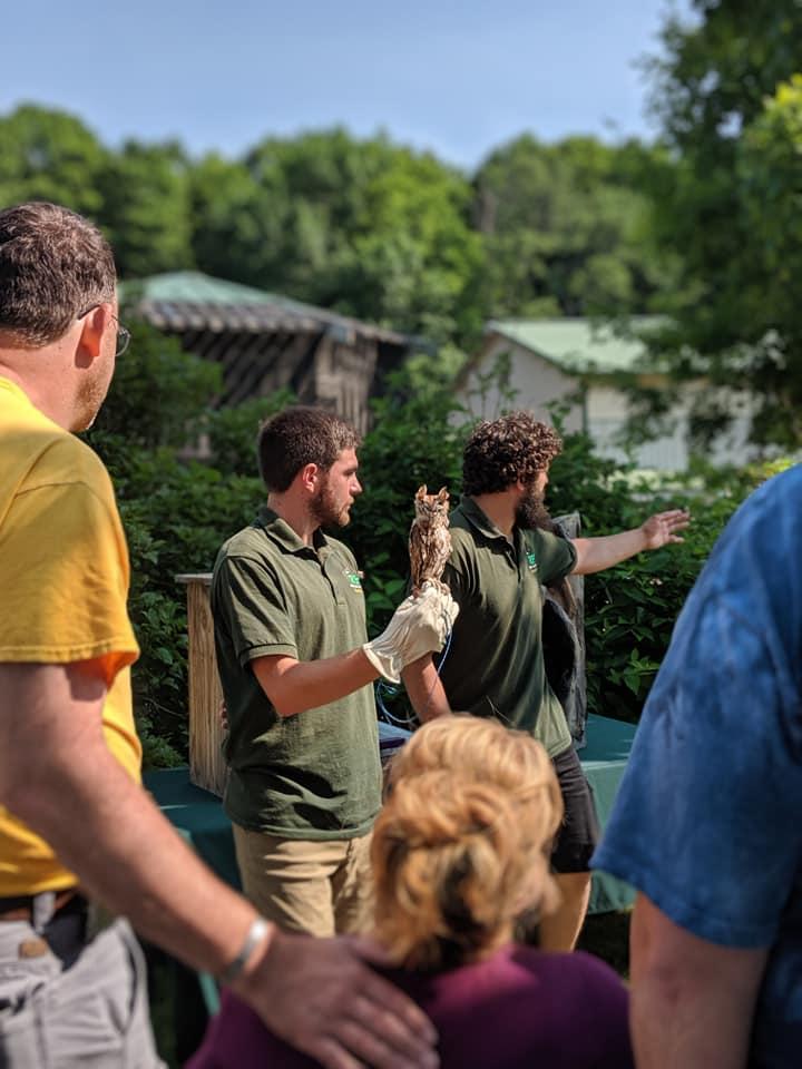 Chris Pavlakovich & Brad Baum speak about owls