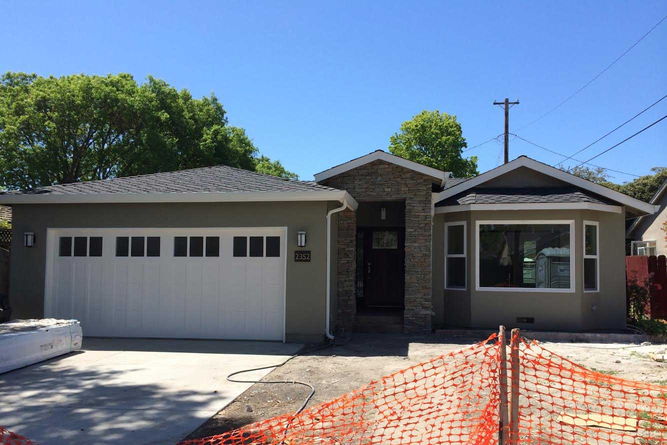 Arlene Drive - Santa Clara    Extensive remodeling and extension, open floor plan with custom dining integrated to the kitchen. Master Suite with french doors to outside.