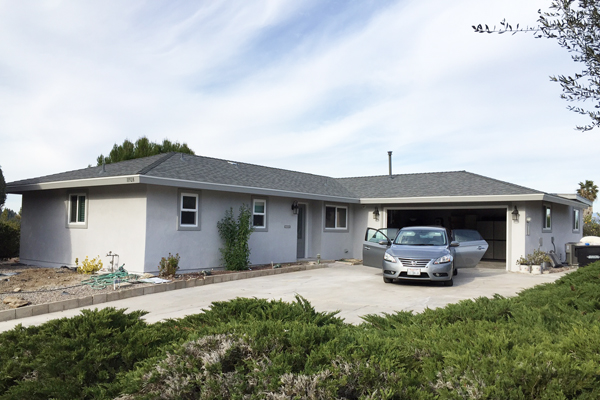 Lomica Drive - San Diego       (finished in January 2015)   Extensive interior remodel, spacious open floor plan with brand new kitchen cabinets with state of the art appliances, and recreation room.