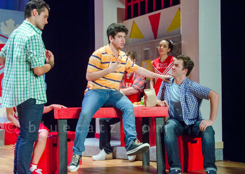 "ZEKE IN ""HIGH SCHOOL MUSICAL"" AT ENLIGHTENED THEATRICS"