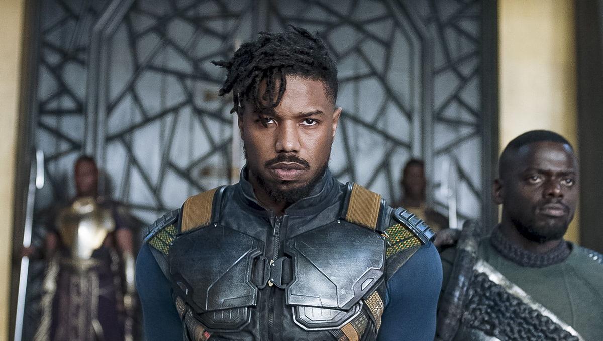 2.) Michael B. Jordan, Black Panther