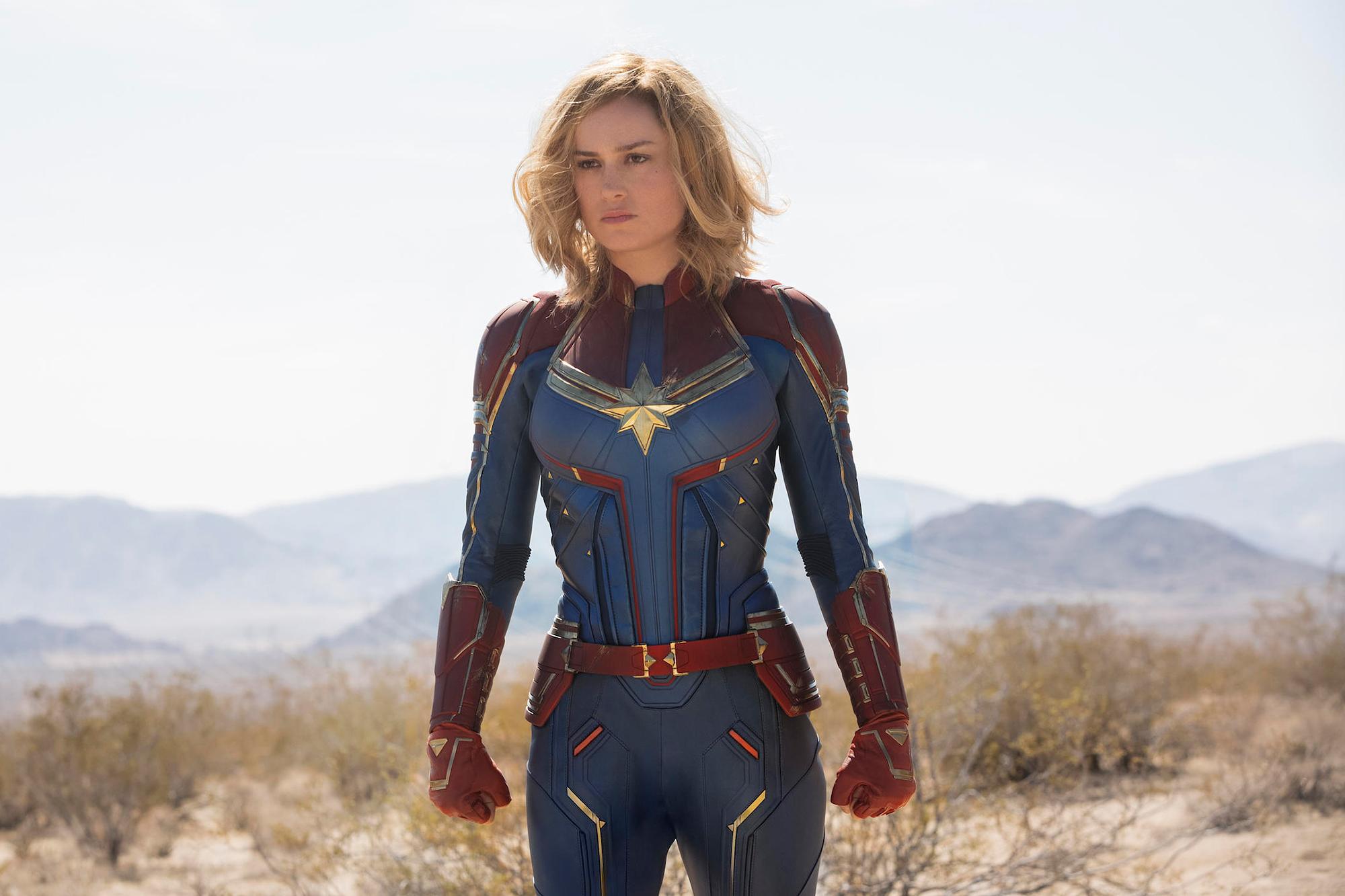 7.) Brie Larson, Captain Marvel