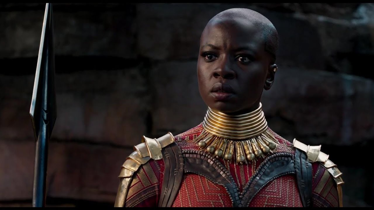 3.) Danai Gurira, Black Panther