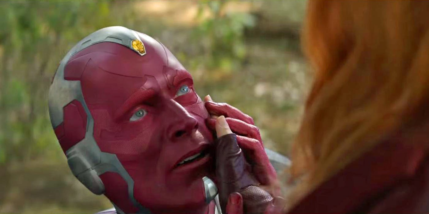 7.) Vision, Avengers: Infinity War