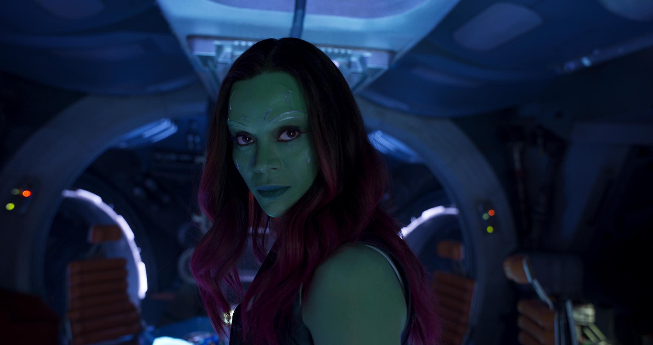 5.) Gamora, Avengers: Infinity War