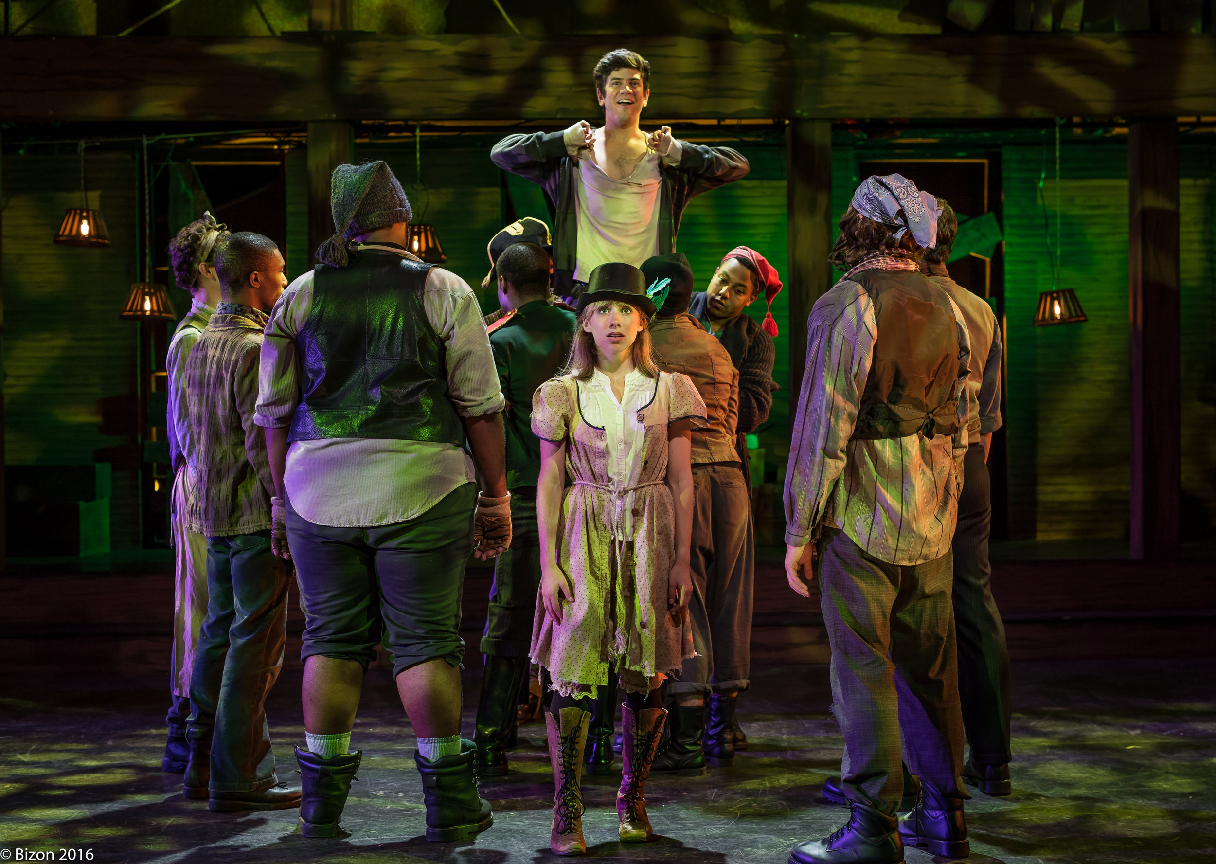 "PETER IN ""PETER AND THE STARCATCHER"" AT WEATHERVANE THEATRE"