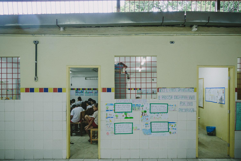 Emidio's school.