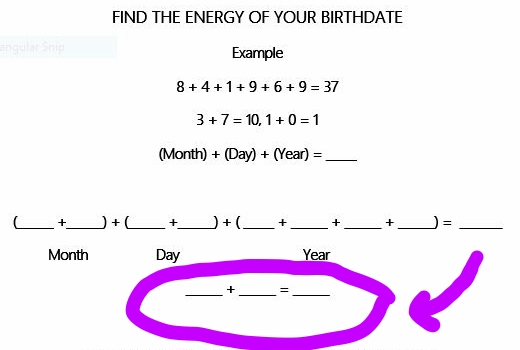 If the number 2 shows up anywhere in the purple circle- this message is for you!
