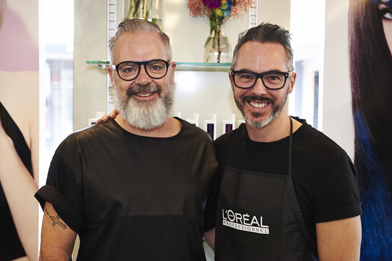 L'Oréal Professionnel Hairchalk launch 2014_Brett Albury & Brett Mckinnon.jpg