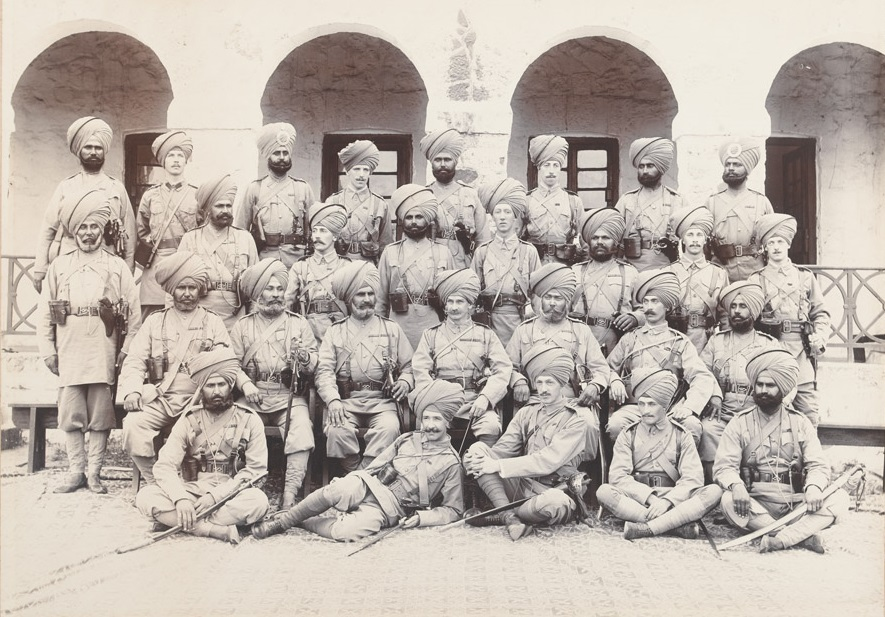 14th Sikhs en route for China, 1900