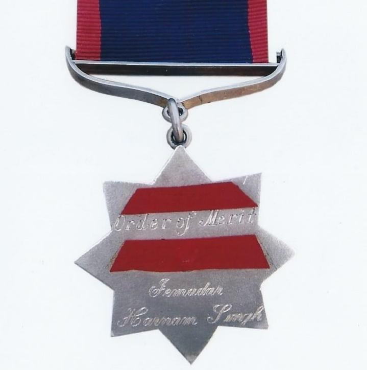 Replica Indian Order of Merit (2/2)
