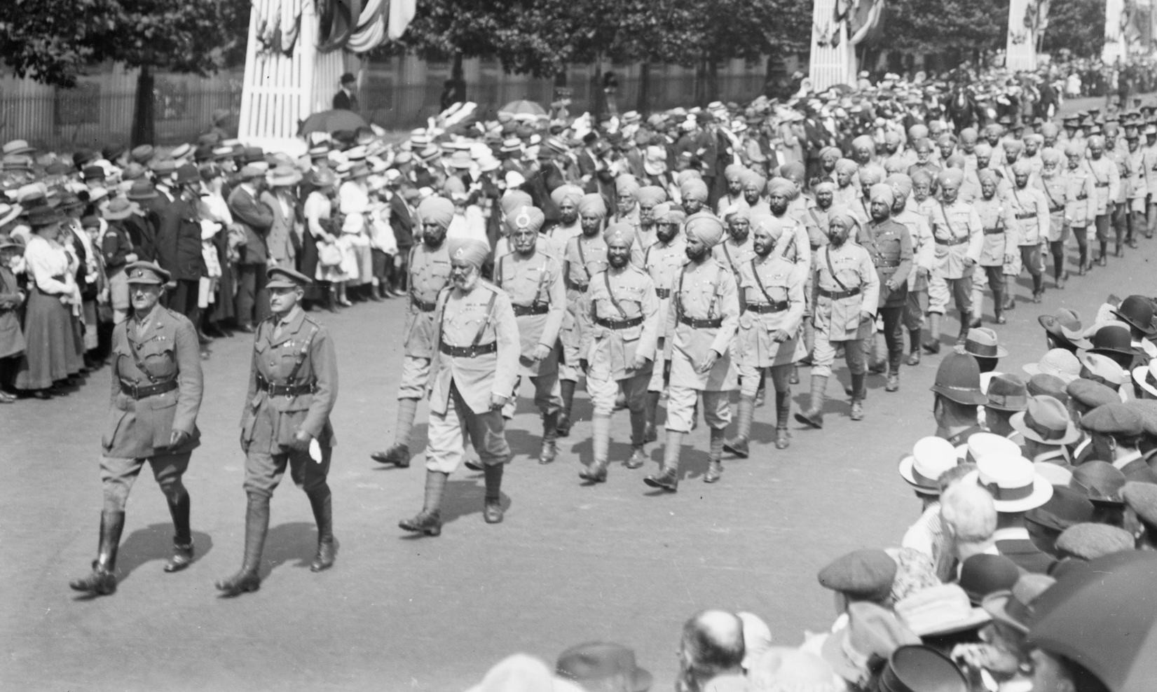 Victory Parade, London, August 1919