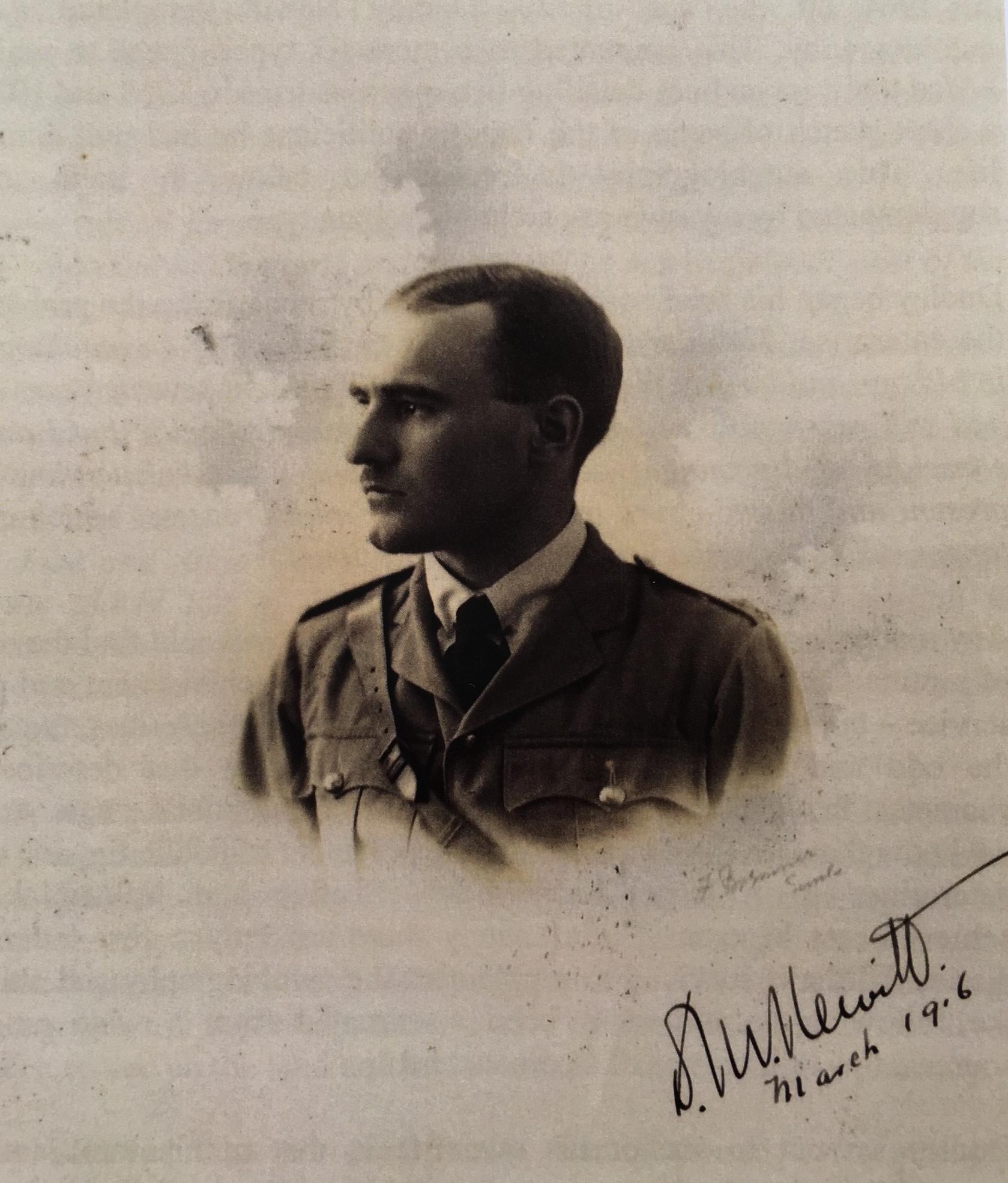 Captain Dudley Newitt, March 1916