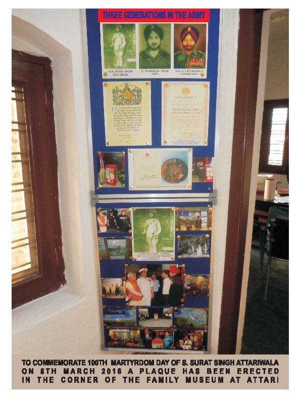 Attariwala Family Plaque
